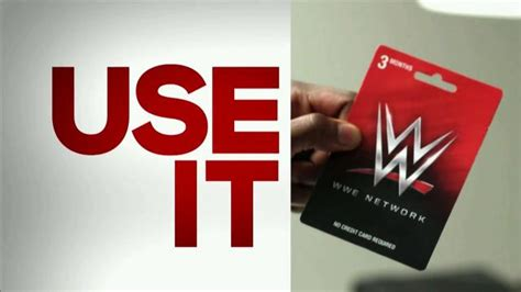 Wwe Network Gift Card Walmart - wwe network 3 month subscription tv commercial the wwe gift card ispot tv