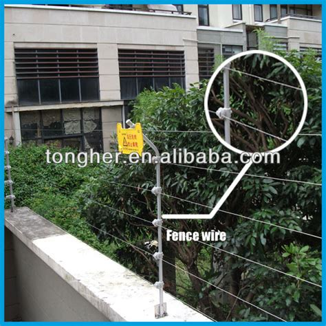 new china electrical safe fencing wire alarm system for