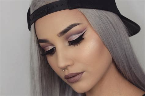how to do easy cut crease tutorial byjeannine