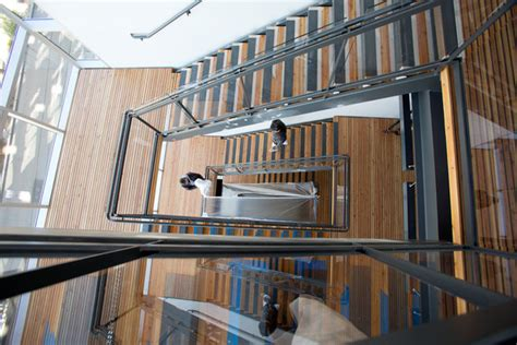 Seattle Stair by The Bullitt Center In Seattle Goes Well Beyond Green The
