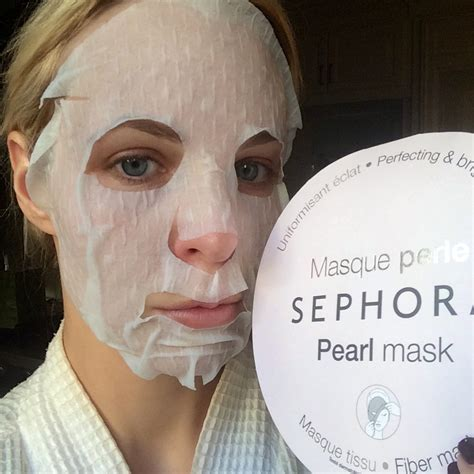 Sk Ii Treatment Mask sephora pearl mask review beautynow
