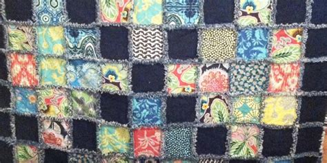 Rag Quilts For Beginners by She Made A Fabulously Beautiful Beginners Rag Quilt So