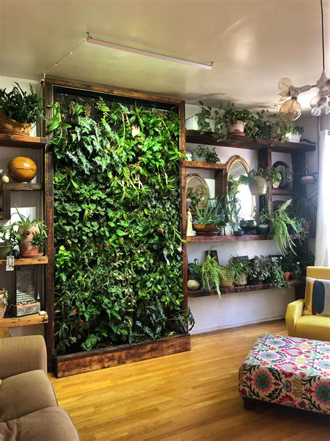vertical gardens   perfect small space solution