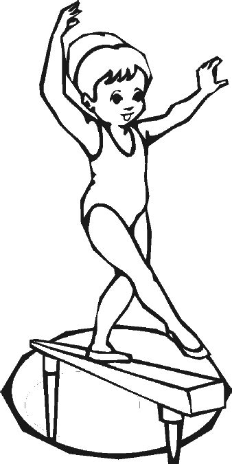 gymnastics coloring pages beam toddler gymnastics coloring pages toddler gymnastics