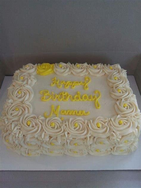 Rosette Sheet Cake   Holly's Buttercream Cakes   Pinterest