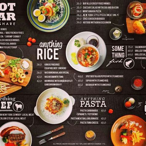 design menu makanan unik 106 contoh desain brosur makanan terbaik 2017 uprint id