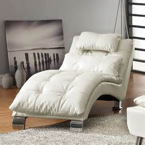 Modern Chaise Lounge Chairs Living Room Dreamfurniture 550078 Contemporary Living Room Chaise Lounge