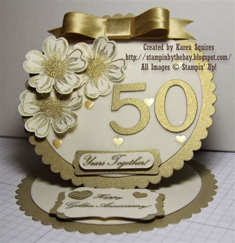 50th Wedding Anniversary Card Ideas by 17 Best Ideas About 50th Anniversary Cards On
