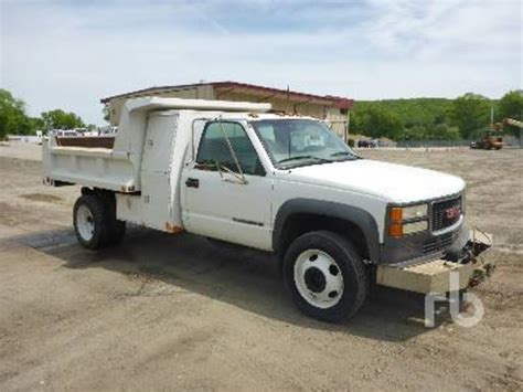 gmc trucks used gmc 3500hd dump trucks for sale used trucks on buysellsearch