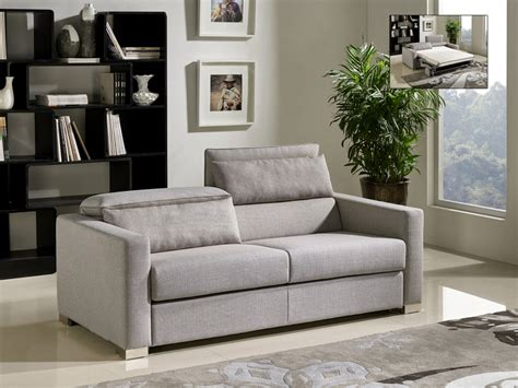 divani casa norfolk modern grey fabric sofa bed sofa