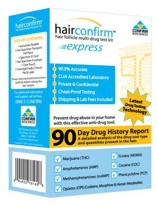 Synergy Detox Hair Test Reviews by Hair Confirm Express Hair Testing Kit Review