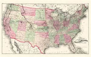 railroad map united states railroad maps united states railroads us by c h