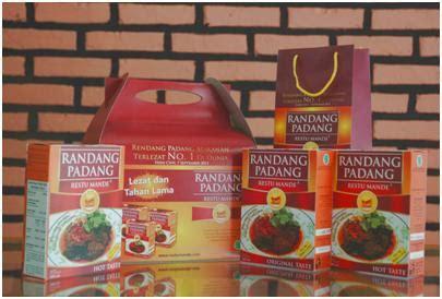rendang makanan indonesia  mendunia