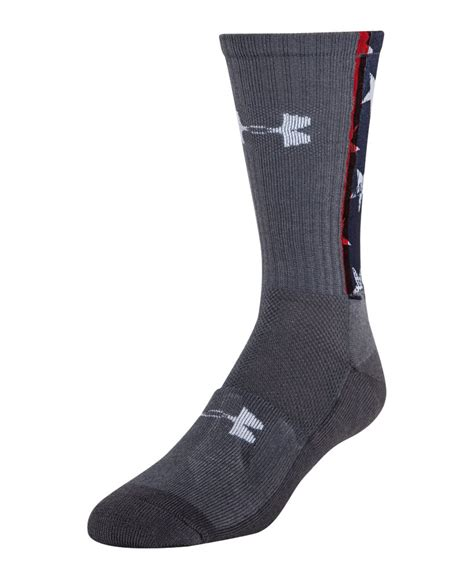 under armoir socks under armour stars stripes crew socks
