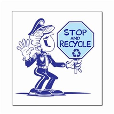 Recycled Labels To Combat Junk Mail by Ai Rdoth114 1 Color Stop And Recycle Recycling Decal