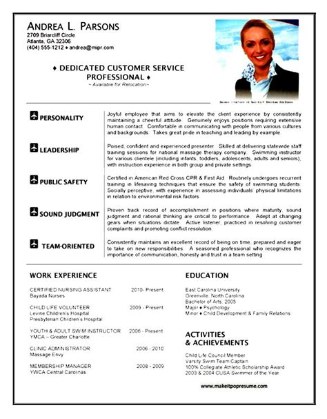 Flight Attendant Resume Template by Flight Attendant Resume Exle Free Sles Exles