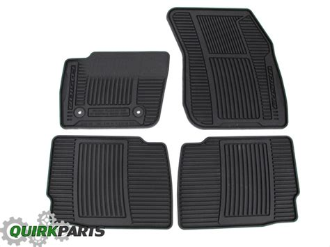 2013 2015 ford fusion all weather rubber vinyl black floor