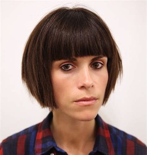 haircuts for blunt nose how to feminize your face mtf