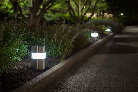 Light Column Pathway Bollard Outdoor Forms Surfaces Pathway Landscape Lighting