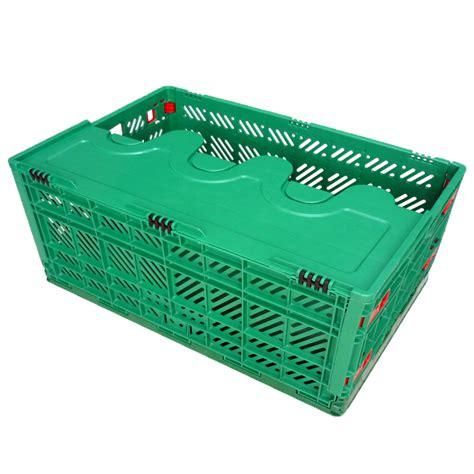 folding crate 600 400mm vegetables folding plastic crates folding crate with wheels buy folding