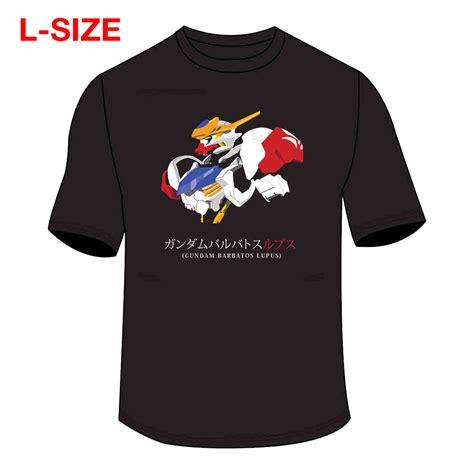 Tshirtt Shirtkaos Gundam t shirt gundam barbatos lupus t shirt l size bandai gundam models kits premium shop