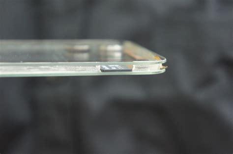 Touchscreen Polytron W7450 Limited polytron creates world s transparent mobile phone