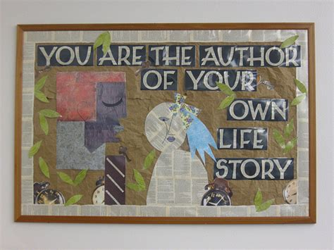 biography bulletin board ideas quot you are the author of your own life story quot bulletin board