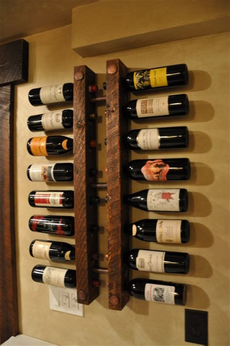 Vine Rack by Wood Wine Storage Racks Room Ornament