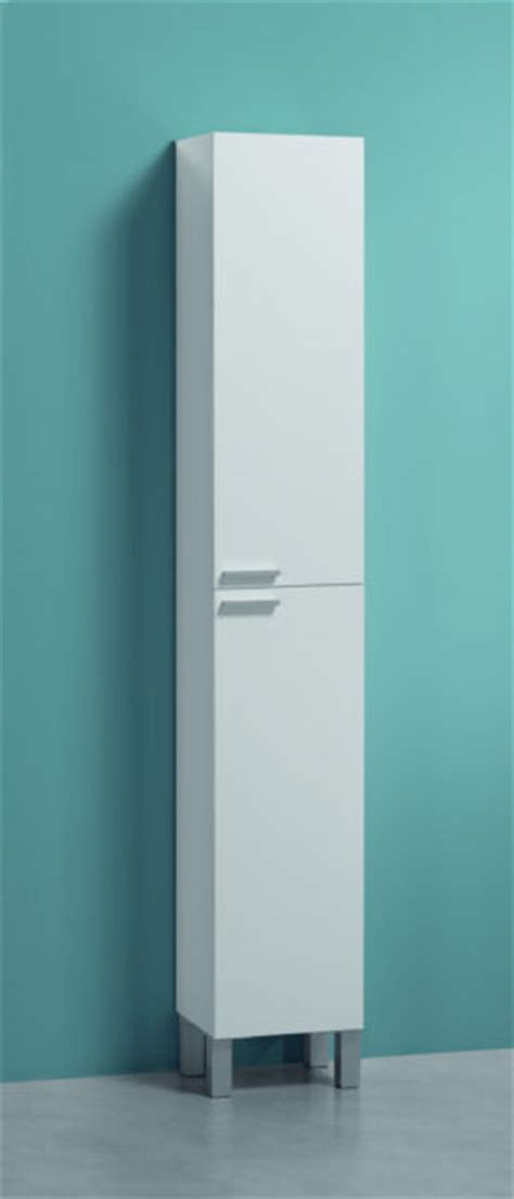 Koncept White Gloss Tall 30 x 182cm Free Standing Bathroom