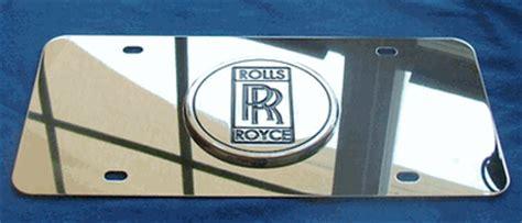 rolls royce license plate