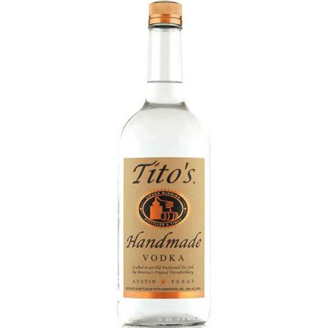 Titos Handmade Vodka Price - tito s handmade vodka bitters bottles liquor shop