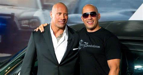 fast and furious 8 vin diesel instagram the rock s fast 8 rant is about vin diesel report us
