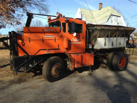 Wheels Plow Truck 1974 Oshkosh Plow Truck With Wing Plow 4 Wheel Drive For