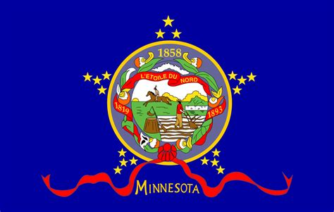 state pictures minnesota flag