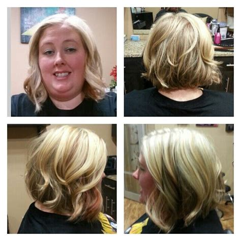 how to curl an inverted bob haircut inverted bob short hairstyle long layers curly wavy