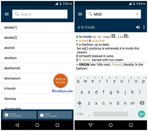 dictionary for android apk oxford dictionary of v7 0 177 premium apk free