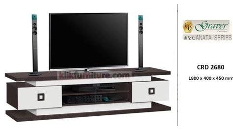 Meja Tv Bufet Anata Crd 2680 Graver Anata Buffet Rak Tv Promo