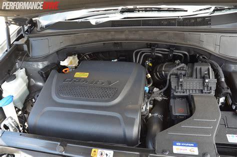 hyundai santa fe diesel engine 2015 hyundai santa fe elite review performancedrive