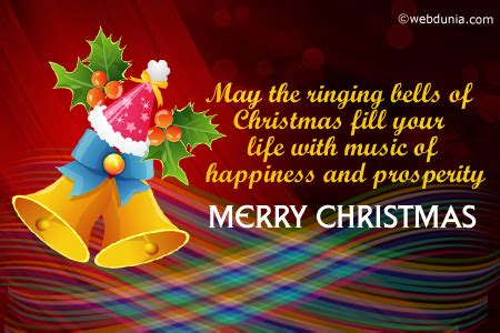 ringing bells  christmas fill  life    happiness  prosperity merry
