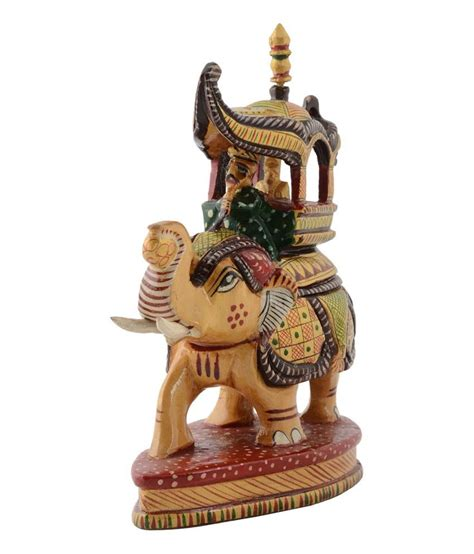 home decor handicrafts rajrang yellow handicrafts wooden home decor buy rajrang