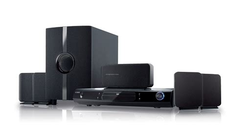 coby 5 1 channel dvd home theater system w progressive