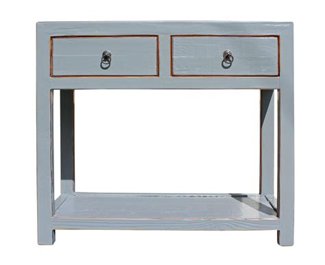 gray wood console table gray wood console table chairish