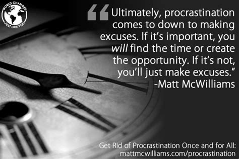 Get Rid Of Procrastination by Get Rid Of Procrastination Once And For All