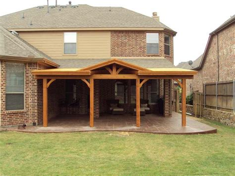 Attached Patio Cover Plans by Patio Cover With Gable Attached To Fascia Hundt