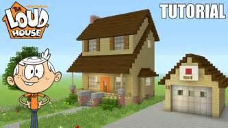 how do you build a house minecraft tutorial how to make quot the loud house quot house