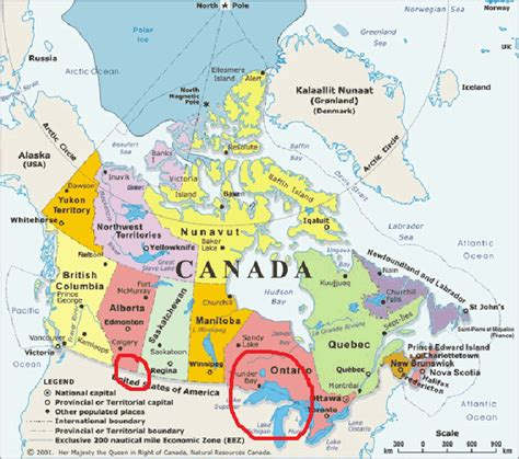 map of canada and lakes aidan milsted s u s history us history ii on