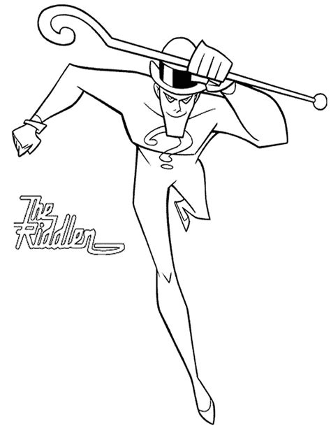 batman enemy coloring pages realistic coloring pages