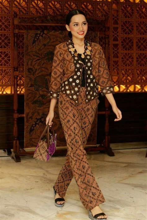 Setelan Kebaya Knf 828 A model baju batik batikan model baju batik