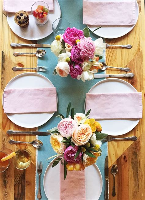 brunch table setting best 25 brunch table setting ideas only on