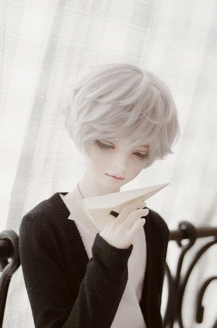 jointed doll white hair 12 best asian jointed dolls images on